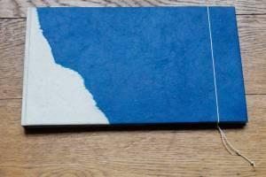 album photo 27x15cm papier népalais lamali